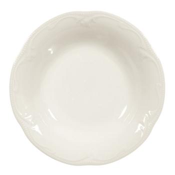6 x Suppenteller 22,5 cm Coup - Seltmann Weiden Rubin cream