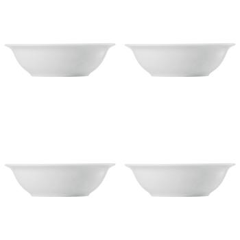 4 x Bowl 17 cm - Trend Weiß - Thomas - 0,5 l - Müslischale - 11400-800001-10580