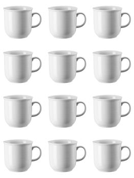12 x Becher mit Henkel groß - Trend Weiß - Thomas - 11400-800001-15571
