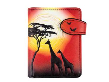 Geldbörse W&F Giraffe - bb-Klostermann 51193 - Geldbeutel Portemonnaie
