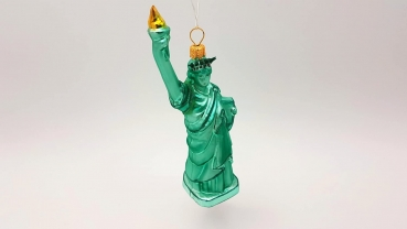 USA Liberty Freiheitsstatue - Hanco Design 2331.01 - Christbaumschmuck aus Glas