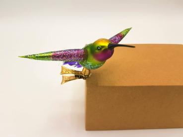Kolibri - Hanco Design 2530.02 - Christbaumschmuck aus Glas