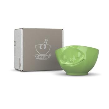 Schale glücklich hellgrün - FIFTYEIGHT T010411 - 500 ml - Müslischale Suppenschale Salatschale