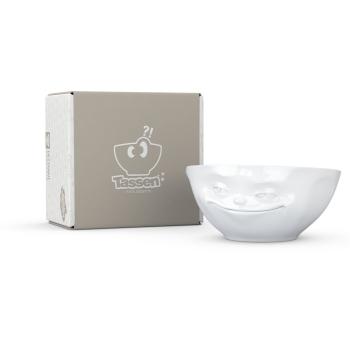 Schale Grinsend weiß - FIFTYEIGHT - 350 ml - Müslischale Suppenschale Salatschale - T020101