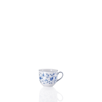 Kaffee-Obertasse 0,21 l - FORM 1382 BLAUBLÜTEN - Arzberg - 41382-607671-14742