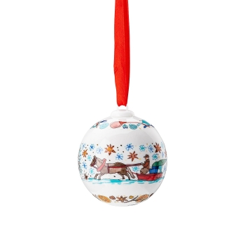 Porzellankugel Weihnachtskugel 2020 - Hutschenreuther - Weihnachtsbäckerei - 02252-722987-27940