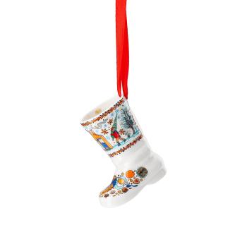Porzellanstiefel Weihnachtsstiefel 2020 - Hutschenreuther - Weihnachtsbäckerei - 02249-722739-27830