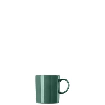 4 x Becher mit Henkel 0,3 l - Sunny Day Herbal Green / Grün - Thomas - 10850-408546-15505 - Henkelbecher Mugge Humpen Haferl