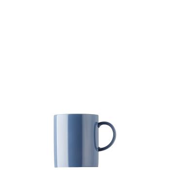 Becher mit Henkel 0,4 l - Sunny Day Nordic Blue / Blau - Thomas -  10850-408545-15571 - Henkelbecher Mugge Humpen Haferl