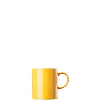 Becher mit Henkel 0,4 l - Sunny Day Yellow / Gelb - Thomas -  10850-408502-15571 - Henkelbecher Mugge Humpen Haferl