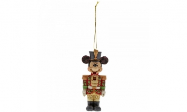 Disney Set 3-tlg. Donald Duck + Micky + Minnie Maus (Nutcracker / Nussknacker - Optik)