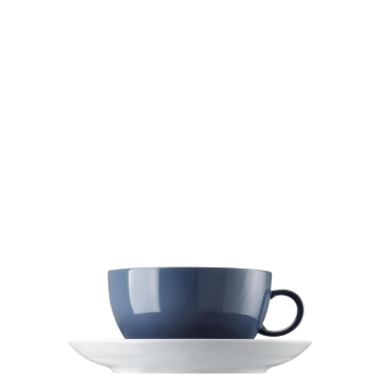 Cappuccinotasse 2-tlg. - Sunny Day Nordic Blue / Blau - Thomas - 10850-408545-14670