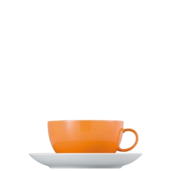 - Sunny Day Yellow // Gelb Thomas 10850-408502-14670 Cappuccinotasse 2-tlg