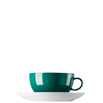 Cappuccinotasse 2-tlg. - Sunny Day Seaside Green / Grün - Thomas - 10850-408544-14670