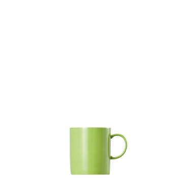 Becher mit Henkel 0,3 l - Sunny Day Apple Green / Grün - Thomas - 10850-408527-15505 - Henkelbecher Mugge Humpen Haferl