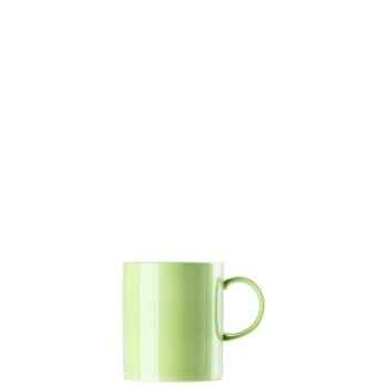 Becher mit Henkel 0,4 l - Sunny Day Apple Green / Grün - Thomas -  10850-408527-15571 - Henkelbecher Mugge Humpen Haferl