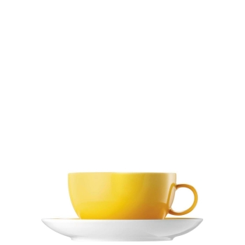 Cappuccinotasse 2-tlg. - Sunny Day Yellow / Gelb - Thomas - 10850-408502-14670