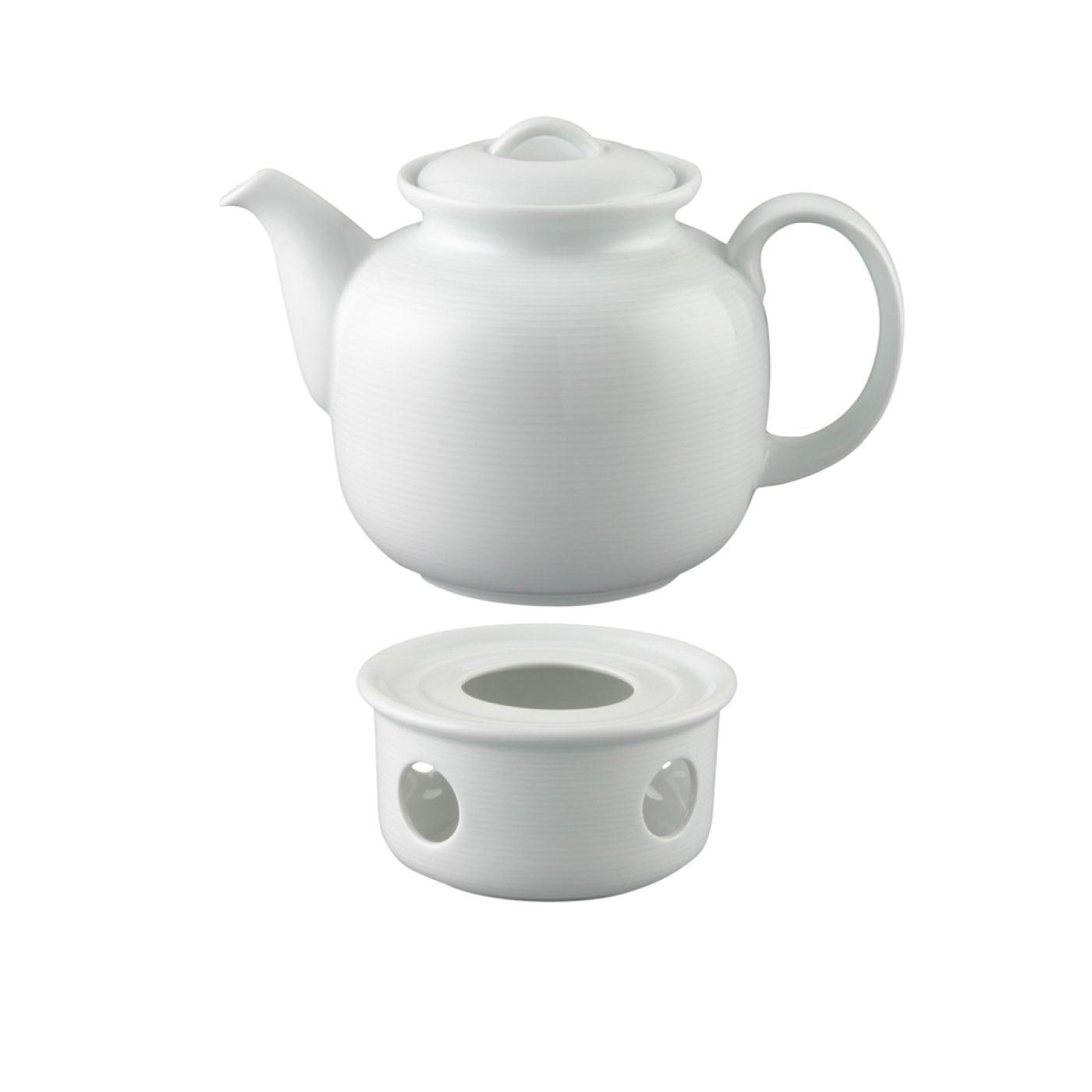 Die Kleine Geschenkidee - Tee-Set 6 Personen - 2-tlg. - Trend Weiß ...