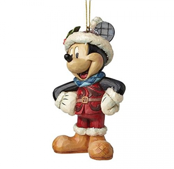 Micky + Minnie Maus - Set 2-tlg. - Walt Disney Christbaumschmuck