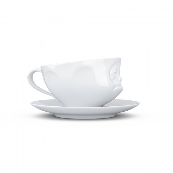 Tasse Verpennt weiß - FIFTYEIGHT - 200 ml - Kaffeetasse Teetasse - T014501