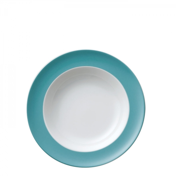 Suppenteller 23 cm - Sunny Day Turquoise / Türkis - Thomas - 10850-408528-10323