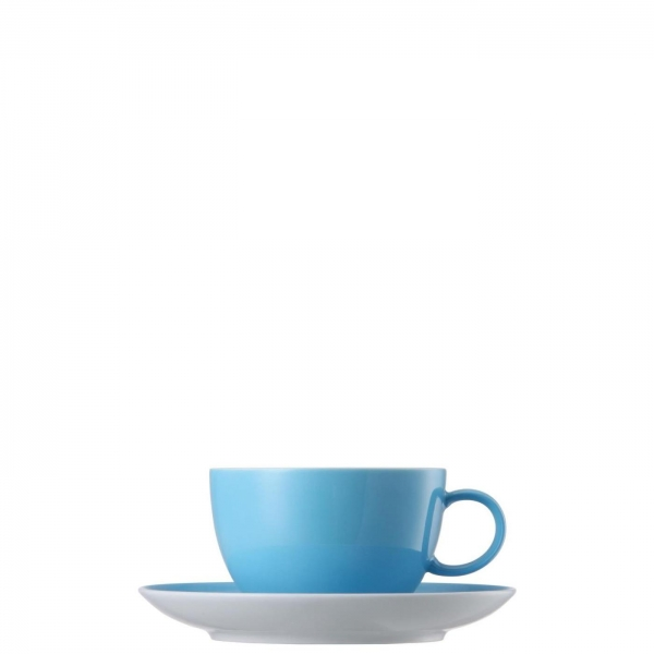 Teetasse 2-tlg. - Sunny Day Waterblue / Blau - Thomas - 10850-408530-14640